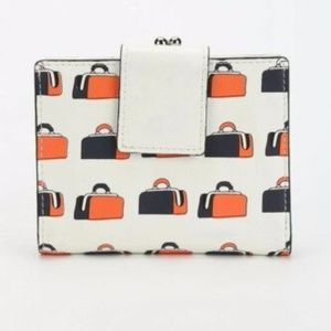 URBAN OUTFITTERS COOPERATIVE KISSLOCK PRINT WALLET